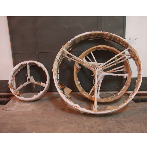 工程木材类_木制螺旋浆木圈