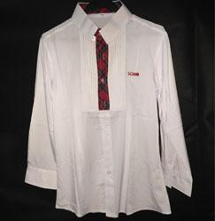 2015款女服务员领班存包收银传送内吧长袖衬衣